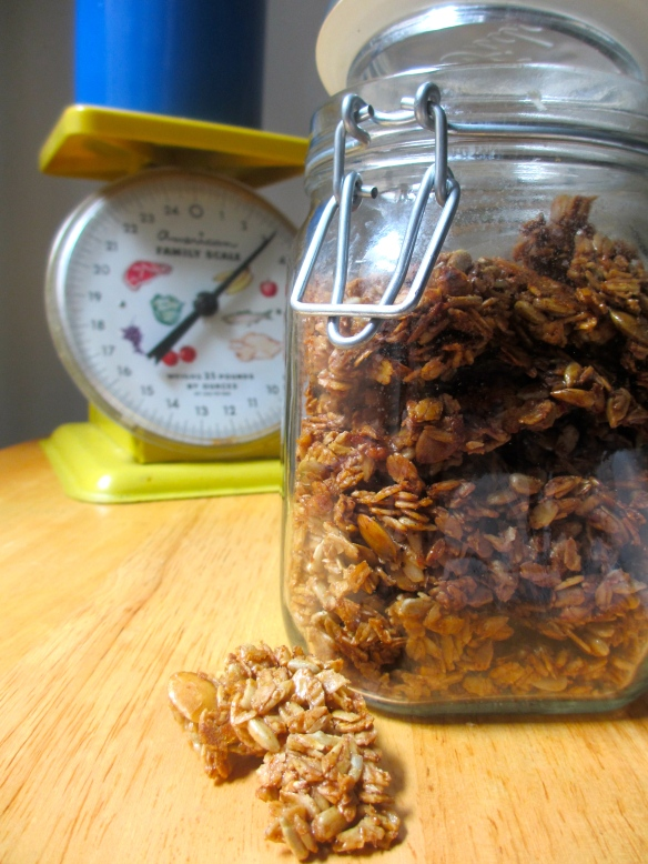 Nut-free Vanilla-Orange Granola by somethingwewhippedup.com