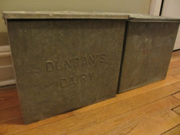 Antique Dairy Box Storage by somethingwewhippedup.com