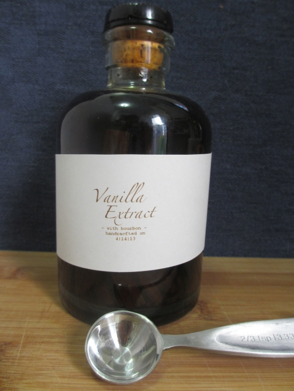 Homemade Vanilla Extract With Bourbon by somethingwewhippedup.com