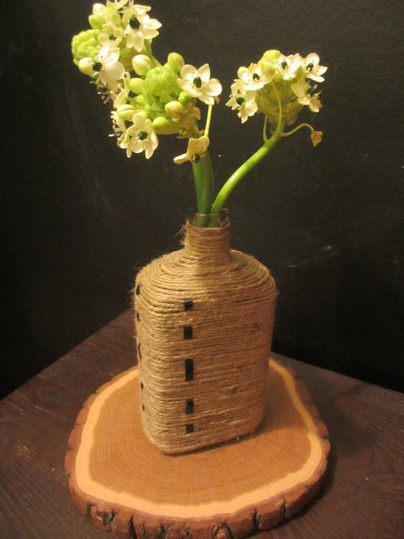 Jute-Wrapped Vase by somethingwewhippedup.com