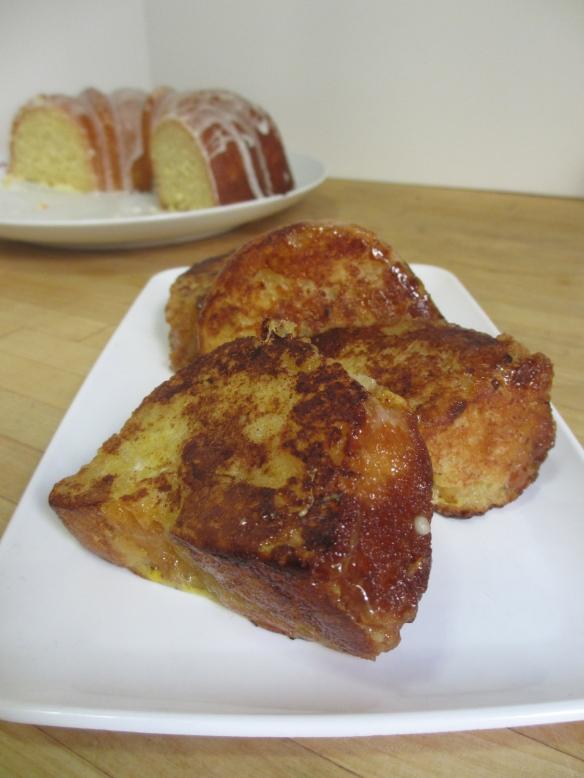 Lemon Cake French Toast by somethingwewhippedup.com