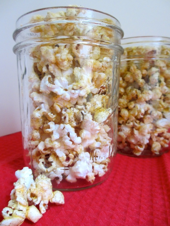 Paprika-Pepper Popcorn by somethingwewhippedup.com