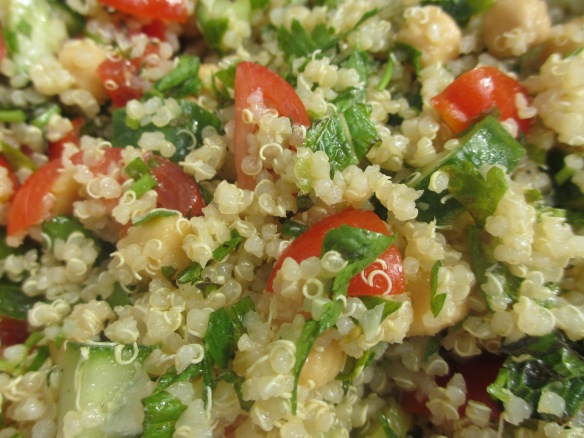 Gluten-Free Quinoa Tabbouleh by somethingwewhippedup.com
