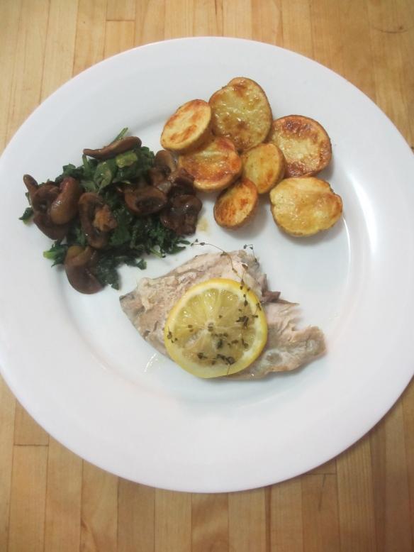 Bluefish Foil Pack Dinner by somethingwewhippedup.com