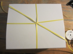 Starting to make a cascading ribbon gift bow (somethingwewhippedup.com)