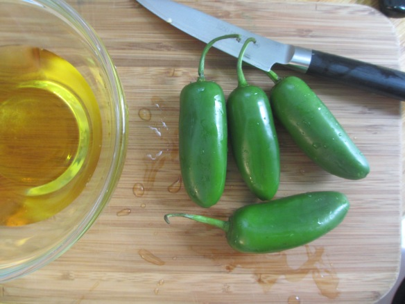 Quick-Pickled Jalapenos by somethingwewhippedup.com