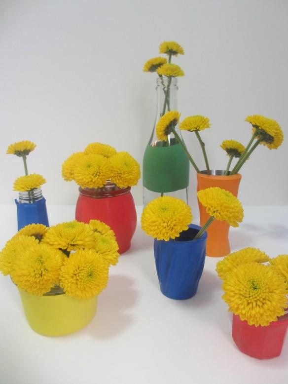 DIY Bud Vases by somethingwewhippedup.com